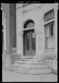 Perspective view to show doorway - 1115 West Lanvale Street (House), Baltimore, Independent City, MD HABS MD-1144-2.tif