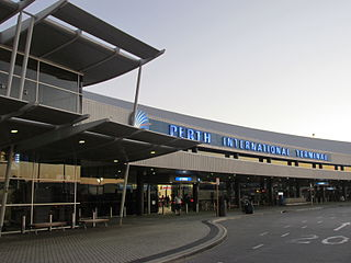 Perth Airport domestic and international airport in Perth, Western Australia
