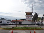 Peru - Cajamarca - Airport tower-2013.jpg