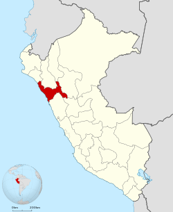 Peru - La Libertad Department (locator map).svg