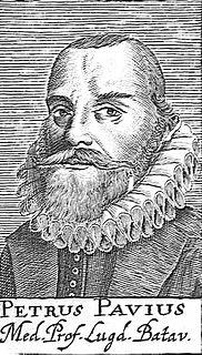 Dutch botanist and anatomist (1564–1617)
