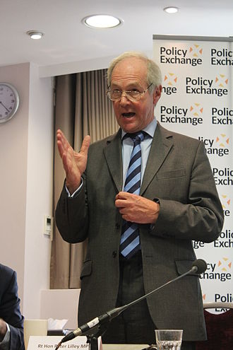 Secretary of State for Work and Pensions - Image: Peter Lilley