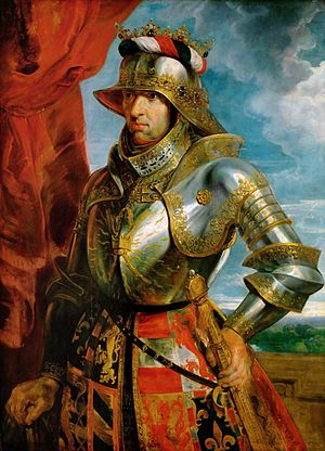 French–Habsburg relations - Holy Roman Emperor Maximilian I, whose expansion of the Holy Roman Empire through strategic marriage heightened Franco-Habsburg tension.