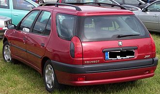 Peugeot 306 - Phase 2 Peugeot 306 break