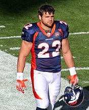 Hillis during his tenure with the Denver Broncos 33c6935b5