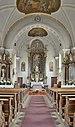 Pfarrkirche Johannes der Täufer Völser Aicha Anton Psenner Innenraum.jpg