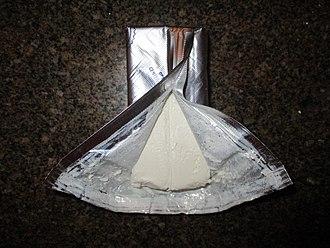Cream cheese - A block of Philadelphia cream cheese