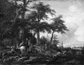 Philips Wouwerman - Hunting to Hounds - KMSsp482 - Statens Museum for Kunst.jpg