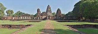 Phimai Historical Park - Image: Phimai temple Wikimedia Commons