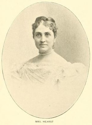 Phoebe Hearst - Phoebe Apperson Hearst, Who's who among the women of California