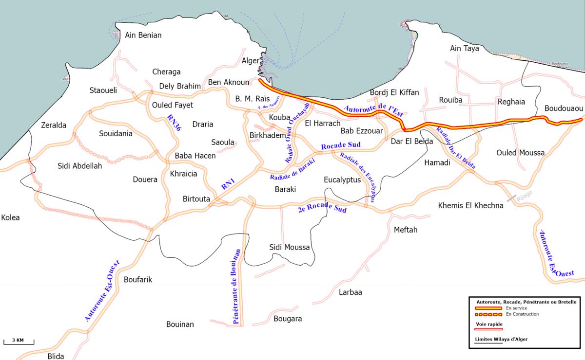 Carte Zeralda Algerie.Gare De Zeralda Wikipedia