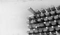 Photograph of Swenty's Sawed and Rabbeted Cedar and Tamarack Building Logs - NARA - 2129623.tif