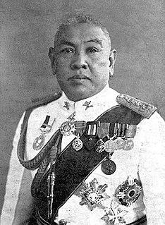 Phraya Phahonphonphayuhasena Thai prime minister