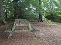 Picnic Bench beside footpath - geograph.org.uk - 1409246.jpg