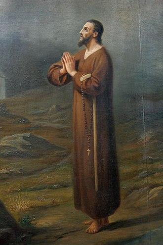 Sachseln - Painting of Bruder Klaus