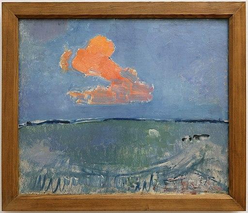 Piet mondrian, la nube rossa, 1907 ca
