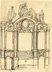 Design for an altar with the Adoration of the Magi