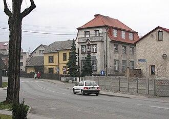 Pietrowice Wielkie - A road through the village