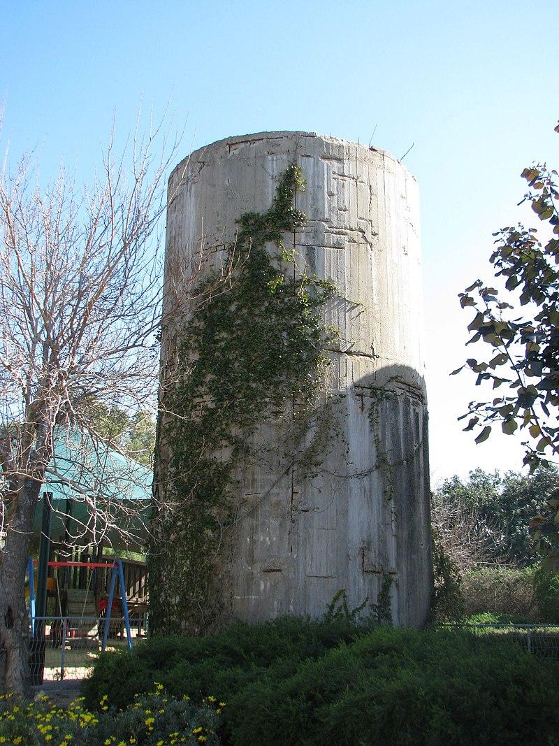 מגדל המים הצפוני בחבצלת השרון