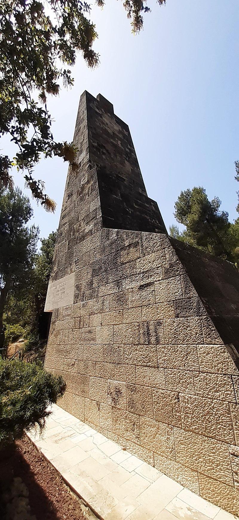 אנדרטת חטיבת הראל בקריית ענבים