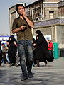 Pilgrims and People around the Holy shrine of Imam Reza at Niruz days - Mashhad - Khorasan - Iran 064.JPG