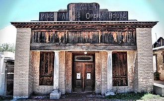 Grant County, New Mexico - The old Pinos Altos Opera House
