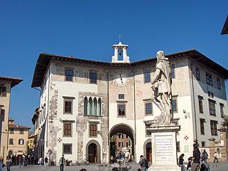 Statue of Cosimo I - Image: Pisa.Cosimo de Medici