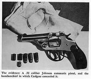 Pistola de Czolgosz