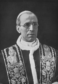 Pie XII en 1939.