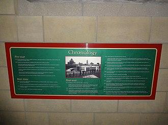 Air Canada Centre - Chronology sign