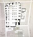 Plan de l'église Saint-Jacques-la-Boucherie au XVIIIe siècle d'après l'abbé Villain, Paris 2014.jpg