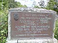 Plaque at Ramhill Bridge over the River Urr on the A76, near Castle Douglas, Kirkcudbrightshire, Scotland.jpg