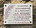 Plaque en hommage à Aimé Boussage, Alexandre Aimard et Auguste Ollivier, Rue Aimé Boussange à Lyon mai 2019).jpg
