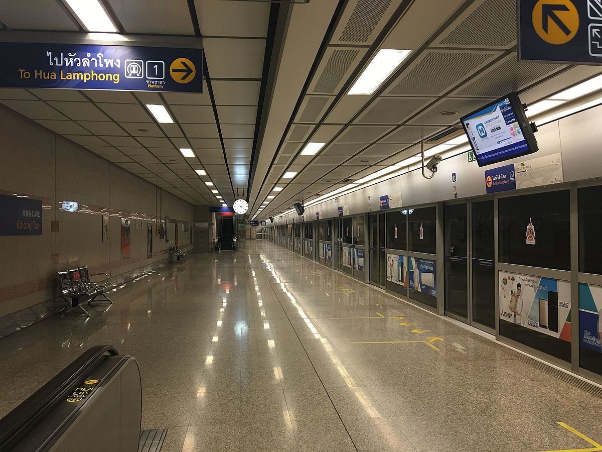 Khlong Toei MRT Station