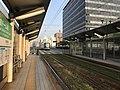 Platform of Genbaku Dome-mae Station 3.jpg