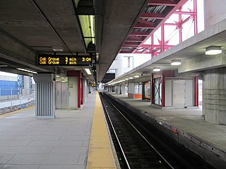 Community College station MBTA subway station