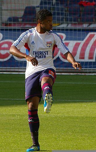 Michel Bastos - Bastos with Olympique Lyon