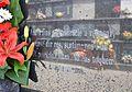 Poema de Joan Vinyoli a una làpida del cementeri de Dénia.JPG