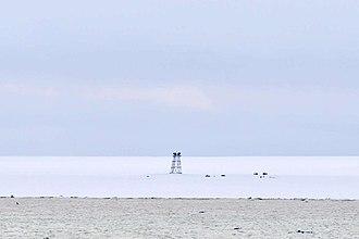 Komsomolets Island - Image: Polarstation Izluchina 2014 08 31