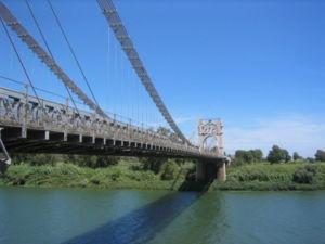 Amposta - Image: Pont penjat d'Amposta