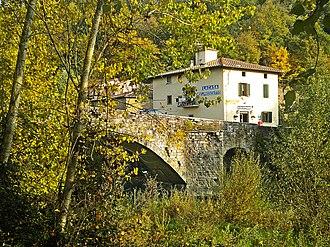 Vicchio - Image: Ponte a Vicchio 1