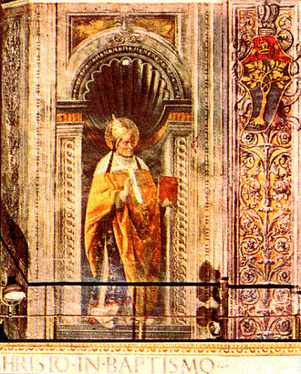 Pope Alexander I - Fresco of Pope Alexander I In Sistine Chapel
