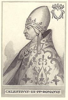 1191 papal election 1191 election of the Catholic pope