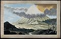 Popocatapetl, Mexico; a flank eruption of the volcano, showi Wellcome V0025197.jpg