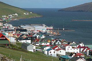 Vágur Municipality and village in Faroe Islands, Kingdom of Denmark