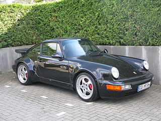 sports car, third generation of the Porsche 911