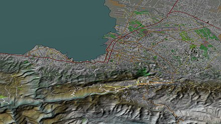 Aerial view, 3D computer generated image. January 27, 2010. Port-au-Prince-TF.jpg