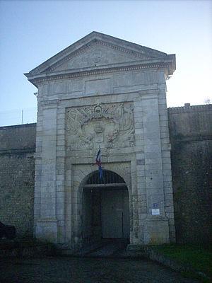 Saint-Martin-de-Ré - Prison gate in Saint-Martin