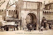 Достопримечательности Авиньона, что посмотреть в Авиньоне, достопримечательности Прованса - Porte de l'Oulle