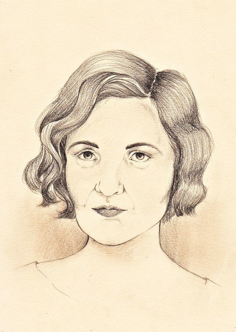 Portrait Carmen Laforet